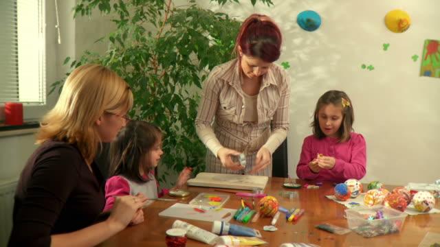 HD: Family Doing Art