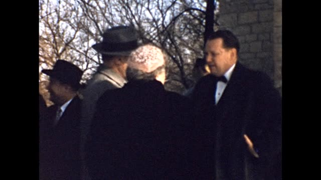 1957 Family Members After Wedding