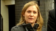 Family of murder victim appeals for help to catch killer ENGLAND London EXT Manda MacPherson speaking to press SOT