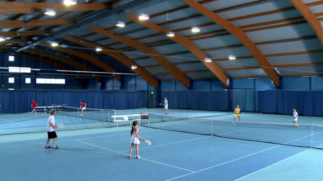 CS WS Family Playing Mixed Doubles