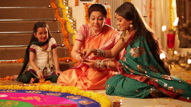 Image result for indian family during festival