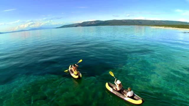 AERIAL Family Sea Kayaking