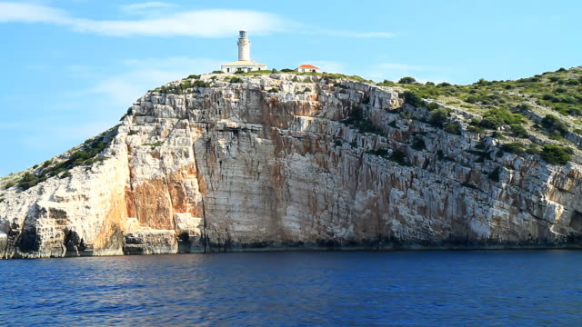 HD: Famous Beacon On Island Lastovo