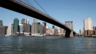 Celebre Ponte di Brooklyn e Manhattan, HD 1080 p