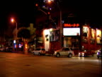 Famous clubs and venues on Sunset Strip Los Angeles