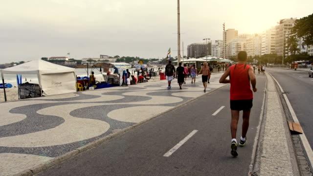 Berühmte Copacabana – Fußgängerzone