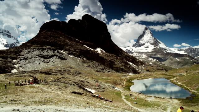 Famous Montain Matterhorn of Switzerland