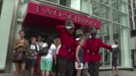 Famous New York toy store FAO Schwarz was open for the last time on Friday with its owners citing high operating costs at its Fifth Avenue location