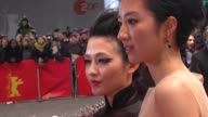Fan Hsiao Shuan and Zhou Xun at Flying Swords of Dragon Gate Premiere 62nd International Berlin Film Festival 2012 at Berlinale Palace on February 17...