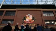 Fans arrive at Sunderland FC's Stadium of Light for their Premier League clash with Arsenal February 9 2013 General Views Of Sunderland Stadium Of...