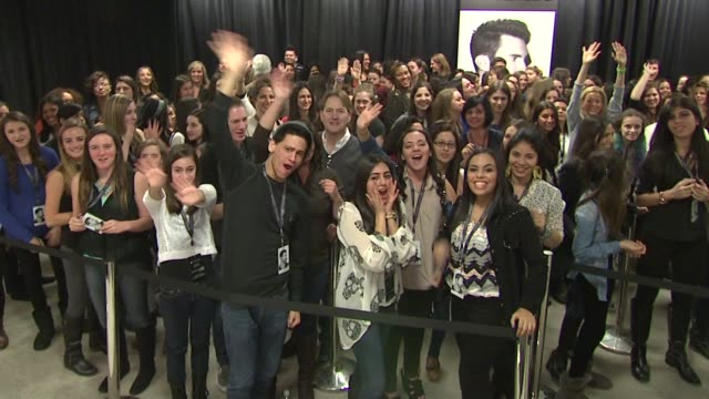 ATMOSPHERE fans at Launch Of Adam Levine Signature Fragrances At Macy's Herald Square at Macy's Herald Square on February 15 2013 in New York New York