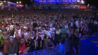Fans in Berlin go wild as Germany beat Argentina 10 in the 2014 World Cup final in Brazil