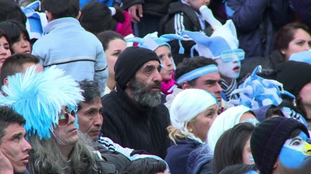 Fans in Buenos Aires celebrated on Tuesday as Angel Di Marias extra time winner kept Argentinas World Cup dream alive