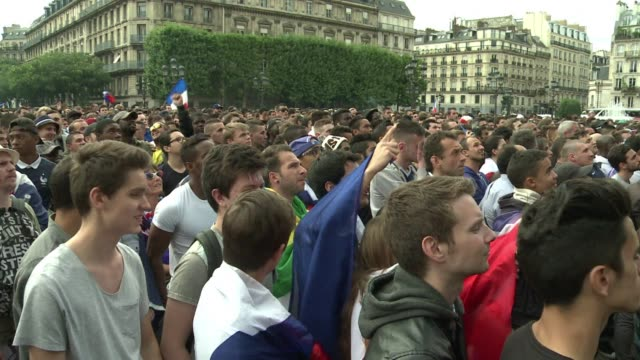Fans in Paris celebrated as a Paul Pogba header and a Joseph Yobo own goal saw France edge a hard fought contest with Nigeria 20 in Brasilia on...