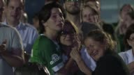 Fans of Brazil's Chapecoense football club whose team was wiped out in a Colombian air crash cram into the home stadium for tearful prayers around...