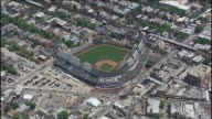 Far Aerial Shot Of Wrigley Field