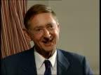 Far East pneumonia reaches Britain ITN London Professor John Oxford interview SOT