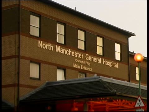 Far East pneumonia reaches Britain LIB Manchester North Manchester General Hospital EXT Hospital building Clean feed tape = D0617283 or D0617282...