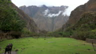 Farm along the Inca Trail, Peru