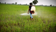 Farmer Spraying