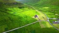 faroean roads in kalsoy