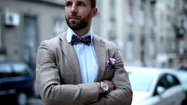 fashion man posing