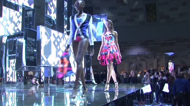 ATMOSPHERE fashion show at Peter Pilotto For Target Launch Event at Gotham Hall on February 6 2014 in New York City
