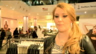 Tulisa launches TFB clothing line Ella Henderson interview SOT On working with Tulisa I can really relate to her she understands me On advice from...