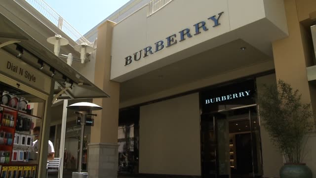 Fashion Valley Mall in San Diego California on September 20 2013 in San Diego California