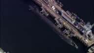 Faslane Naval Base (Nuclear Submarines)  - Aerial View - Scotland, Argyll and Bute, United Kingdom