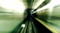 Fast stylized subway
