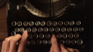 LD Fast typing on an old typewriter