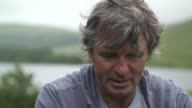 Father visits Brecon Beacons where his son died on an SAS training march David Dunsby interview SOT/ Unidentified man addressing competitors gathered...