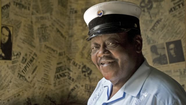 Fats Domino the rhythm and blues pianist whose rollicking style helped give birth to rock n roll died according to the coroner