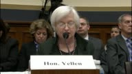 Federal Reserve Chair Janet Yellen cites financial difficulties in the Euro area that Greece 'remains difficult' and China 'poses some risks to US...