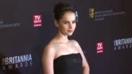 Felicity Jones at the BAFTA Los Angeles 2011 Britannia Awards at Beverly Hills CA
