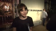 Felicity Jones on Burberry Body her relationship with Burberry what makes Burberry so iconic on British style and on wearing Burberry tonight at the...