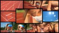HD MONTAGE: Female Athlete