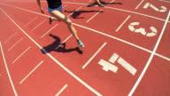 HD SLOW-MOTION: Female Athletes