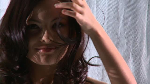 HD SLOW-MOTION: Female Beauty