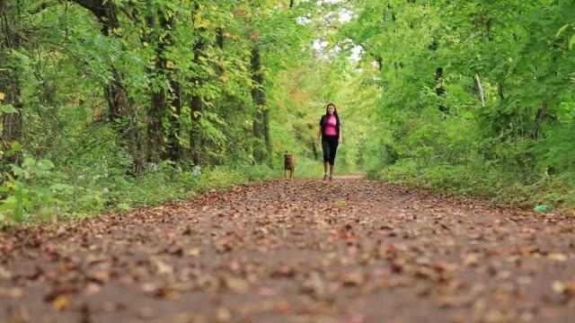 Female dog walker