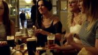 Female Friends at a Pub