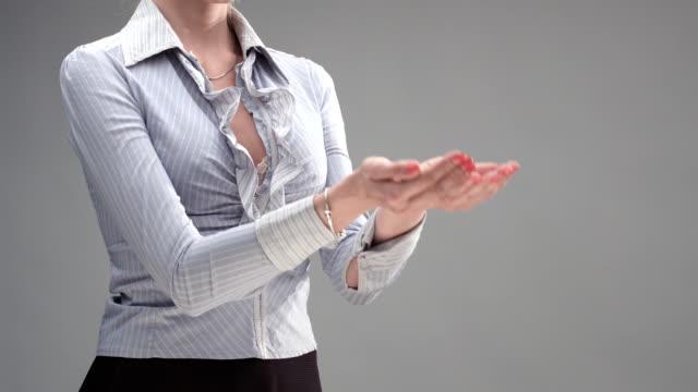 Female Hand Communication