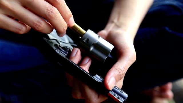 Female Hand Reloading Ammunition, Revolvers