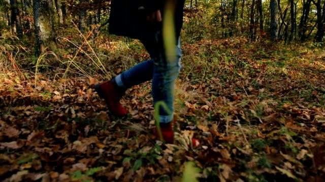 Vrouwelijke wandelaar