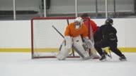 Female ice hockey forward