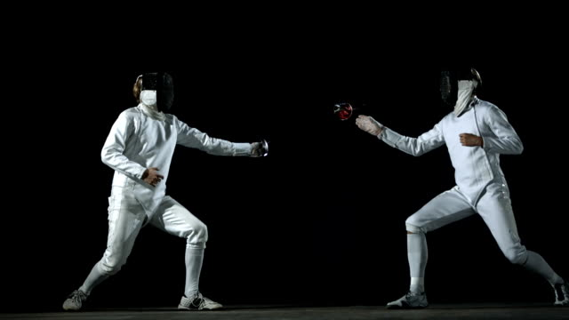 HD: Fencer Executing A Parry