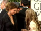 Fergie and Faith Hill at the 2006 Golden Globe Awards Arrivals at the Beverly Hilton in Beverly Hills California on January 16 2006