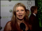 Fergie at the Launch Party for XBOX's Next Generation Console XBOX 360 at a private residence in Beverly Hills California on November 16 2005