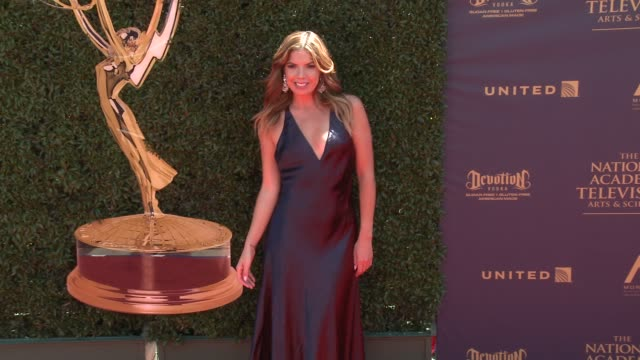 Fernanda Kelly at the 44th Annual Daytime Emmy Awards at Pasadena Civic Auditorium on April 30 2017 in Pasadena California